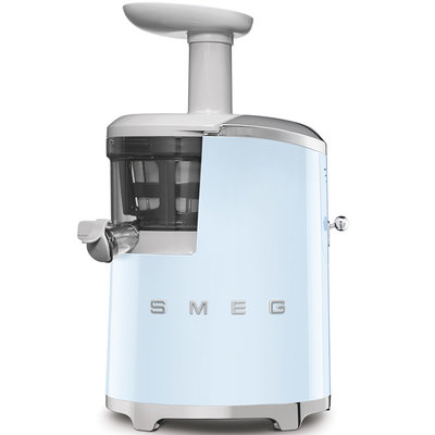 SMEG Slow Juicer Retro 50'S Style Pastel Blue