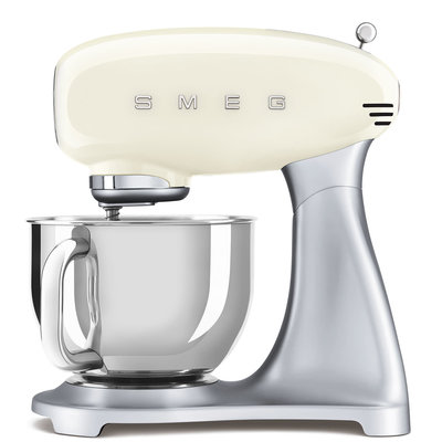 SMEG Stand Mixer 50'S Style, Ext Base, Cream