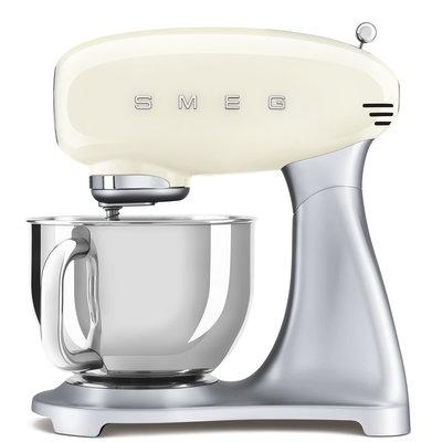 SMEG Stand Mixer 50'S Style, Ext Base, Cream
