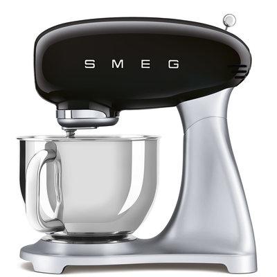 SMEG Stand Mixer 50'S Style, Ext Base, Black