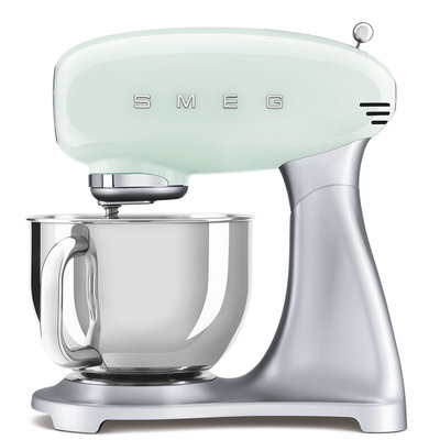 SMEG Stand Mixer 50'S Style, Ext Base, Pastel Green