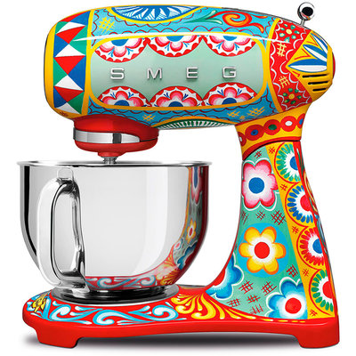 SMEG Stand Mixer 50'S Style Dolce & Gabbana