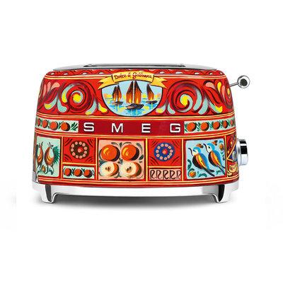 SMEG Toaster 2-Slice 50'S Style Dolce & Gabbana