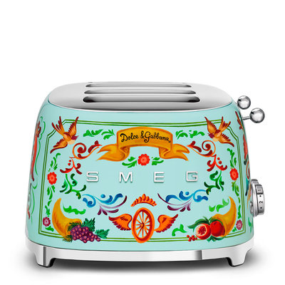 SMEG Toaster 4-Slot 50'S Style Dolce & Gabbana