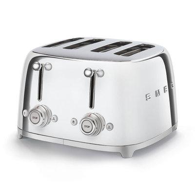 SMEG Toaster 4-Slot 50'S Style Chrome