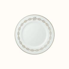 HERMES Chaîne D'ancre Assiette À Dessert 21 Cm
