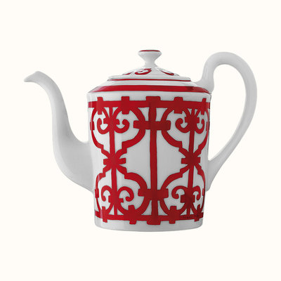 HERMES Balcon Du Guadalquivir Teapot 50.7 Oz