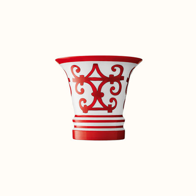 HERMES Balcon Du Guadalquivir Vase Small Model 5'' - 14 Cm