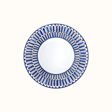 HERMES Bleus D'ailleurs Assiette À Dessert 8.5'' - 21.5 Cm