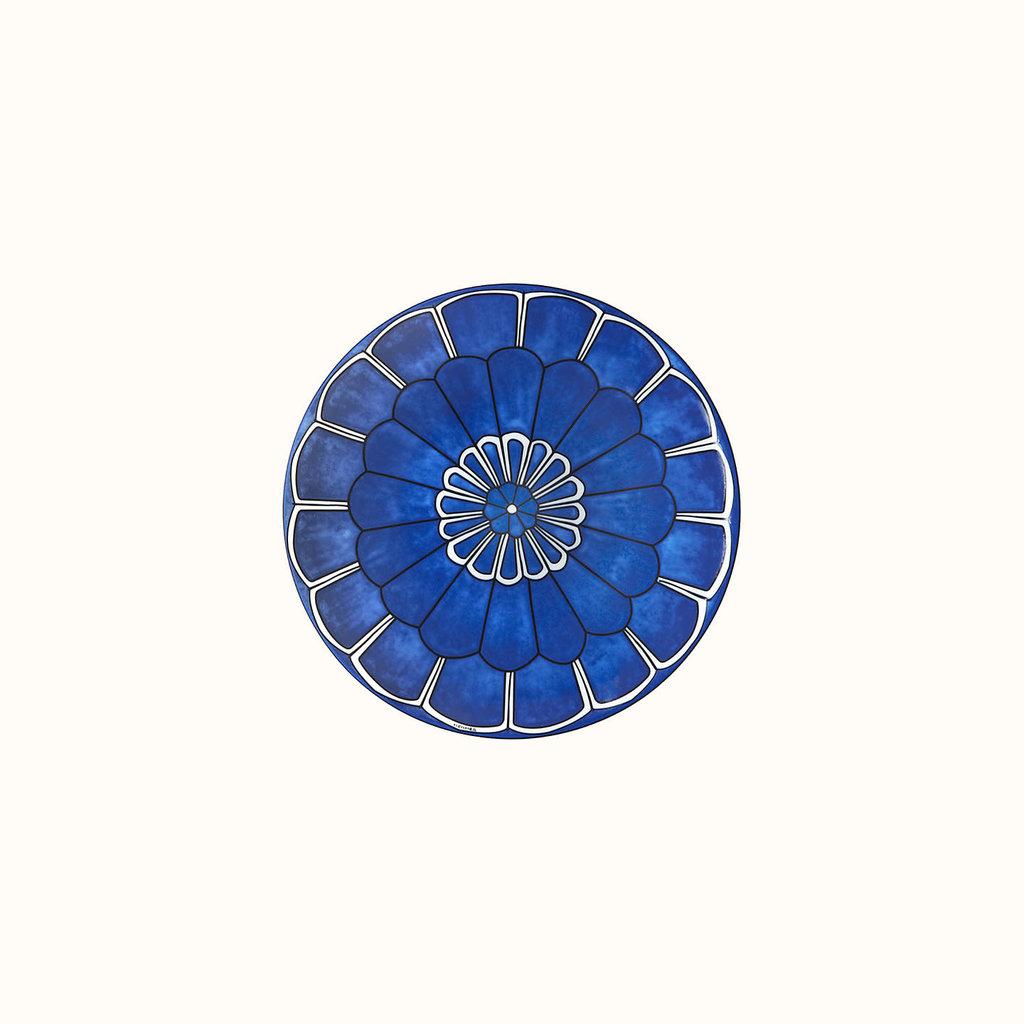 HERMES Bleus D'ailleurs Assiette À Pain 6.7'' - 17 Cm