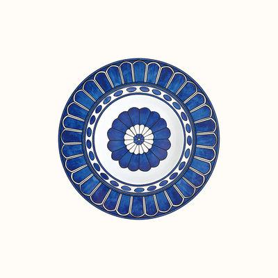 HERMES Bleus D'ailleurs Assiette À Pâtes 9.4'' - 21 Cm