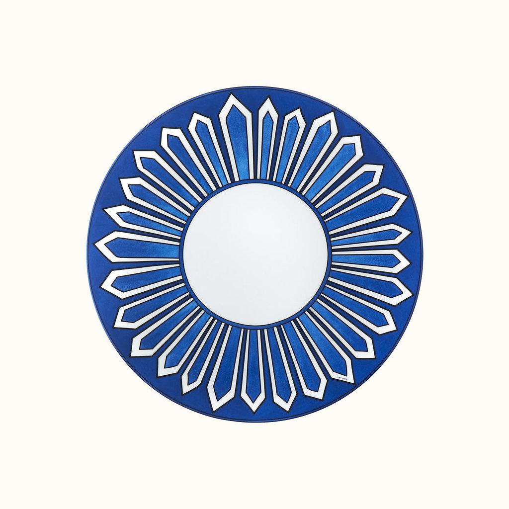 HERMES Bleus D'ailleurs Assiette De Dîner 10.4'' - 26.5 Cm