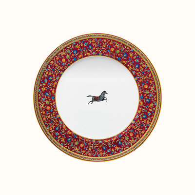 HERMES Cheval D'orient Dinner Plate 10.5'' - 26.5 Cm