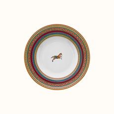HERMES Cheval D'orient Assiette Creuse 9.5''
