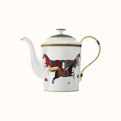 HERMES Cheval D'orient Teapot 110 Oz