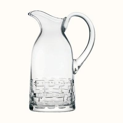 HERMES Adage Water Jug, Crystal 50 Oz