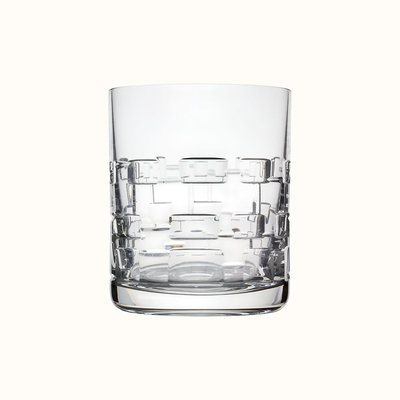 HERMES Adage Tumbler, Large Model, Crystal 10.1 Oz