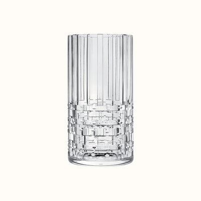 HERMES Adage High Vase, Large Model, Crystal 10.4'' - 26.5 Cm