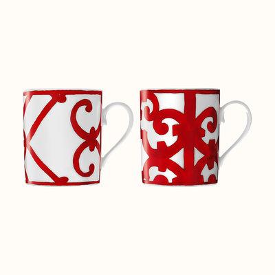 HERMES Balcon Du Guadalquivir Coffret De 2 Mugs - Nº1 Et Nº2