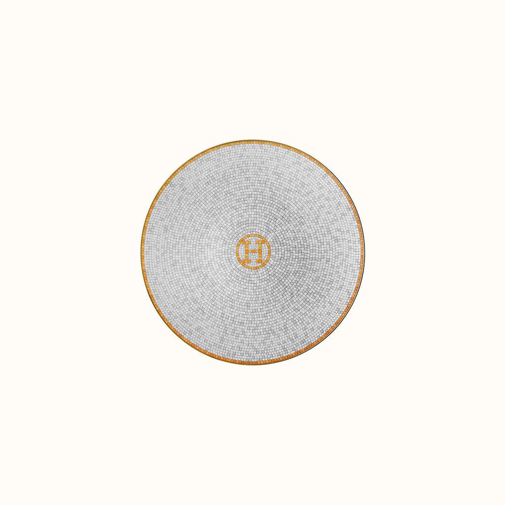 HERMES Mosaique Au 24 Or Assiette À Pain 6.3'' - 17 Cm