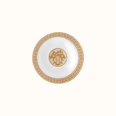 HERMES Mosaique Au 24 Or Assiette Calotte 6.7'' - 17 Cm
