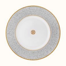 HERMES Mosaique Au 24 Or Assiette De Présentation 12.4'' - 31.5 Cm