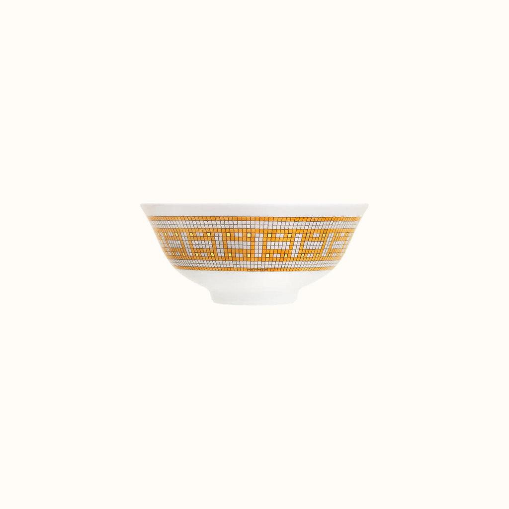 HERMES Mosaique Au 24 Or Bol À Soupe 4.3'' - 11 Cm