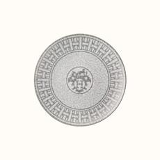 HERMES Mosaique Au 24 Platine Assiette À Dessert 8.3'' - 21.5 Cm