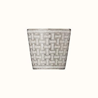 HERMES Mosaique Au 24 Platine Gobelet 6.7 Oz