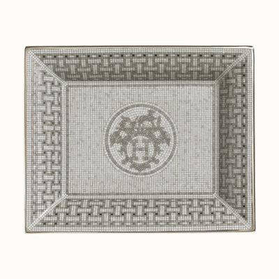 HERMES Mosaique Au 24 Platine Vide Poche 8.3 X 6.7'' - 21 X 17 Cm