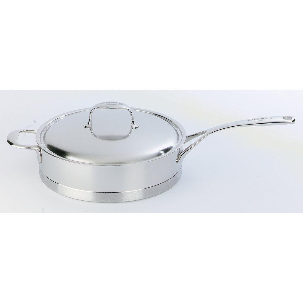 """DEMEYERE Atlantis Low Saute Pan With Lid 28 Cm - 11"""" - 4 L"""