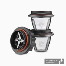 VITAMIX Ascent 8Oz Blending Bowls Starter Kit Self-Detect