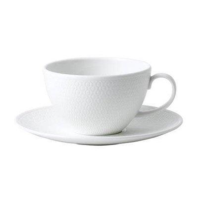 WEDGWOOD Gio Teacup & Saucer Set