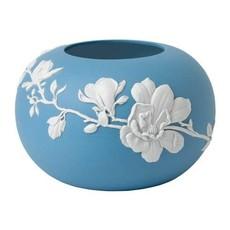 """WEDGWOOD Jasperware Magnolia Fleur Rose Bol 6"""""""