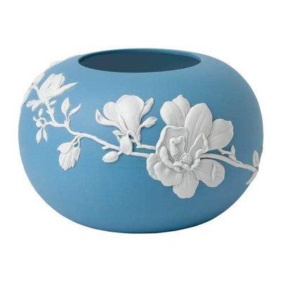 "WEDGWOOD Jasperware Magnolia Blossom Rose Bowl 6"""