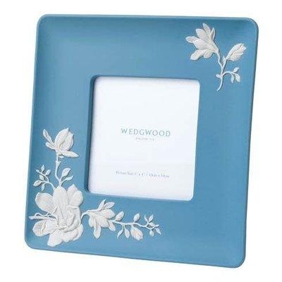 "WEDGWOOD Jasperware Magnolia Blossom Frame 4X4"""