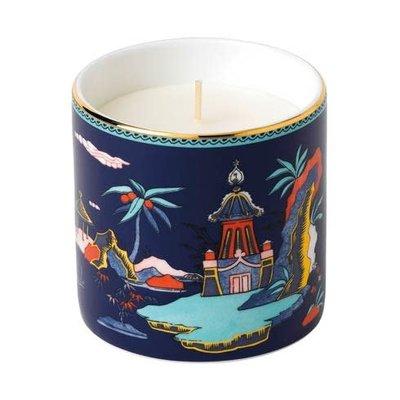 WEDGWOOD Wonderlust Candle Blue Pagoda (Lotus & White Jasmine)