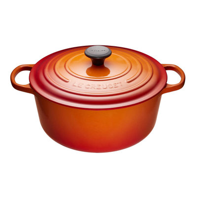 LE CREUSET Signature 6.7 L Round French Oven Flame