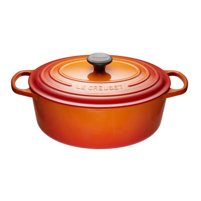 LE CREUSET Signature 6.3 L Oval French Oven Flame