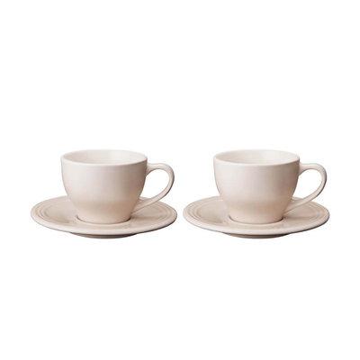 LE CREUSET Classic Ens 2 0,2 L Tasses Cappuccino Meringue