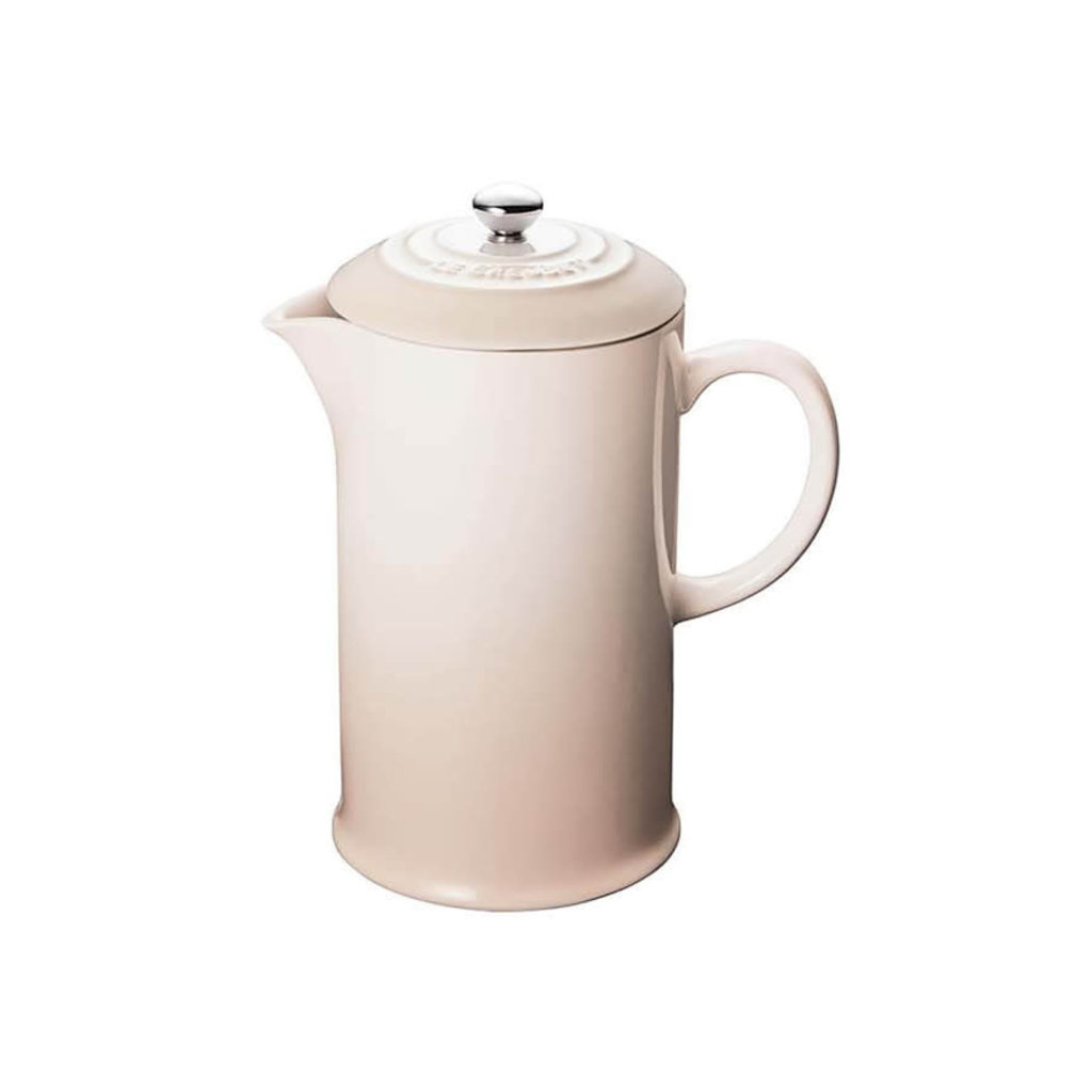 LE CREUSET Classic .8 L French Press Meringue