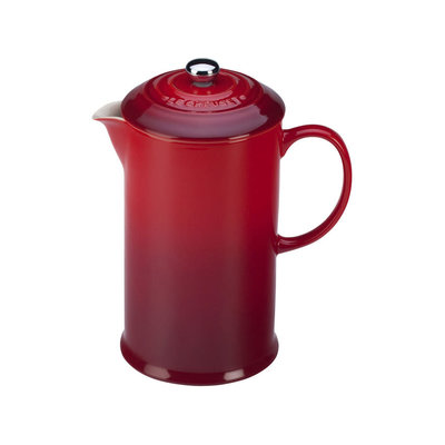 LE CREUSET Classic .8 L French Press Cerise
