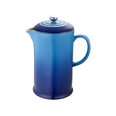 LE CREUSET Classic 0,8 L Cafetiere A Piston Bleuet