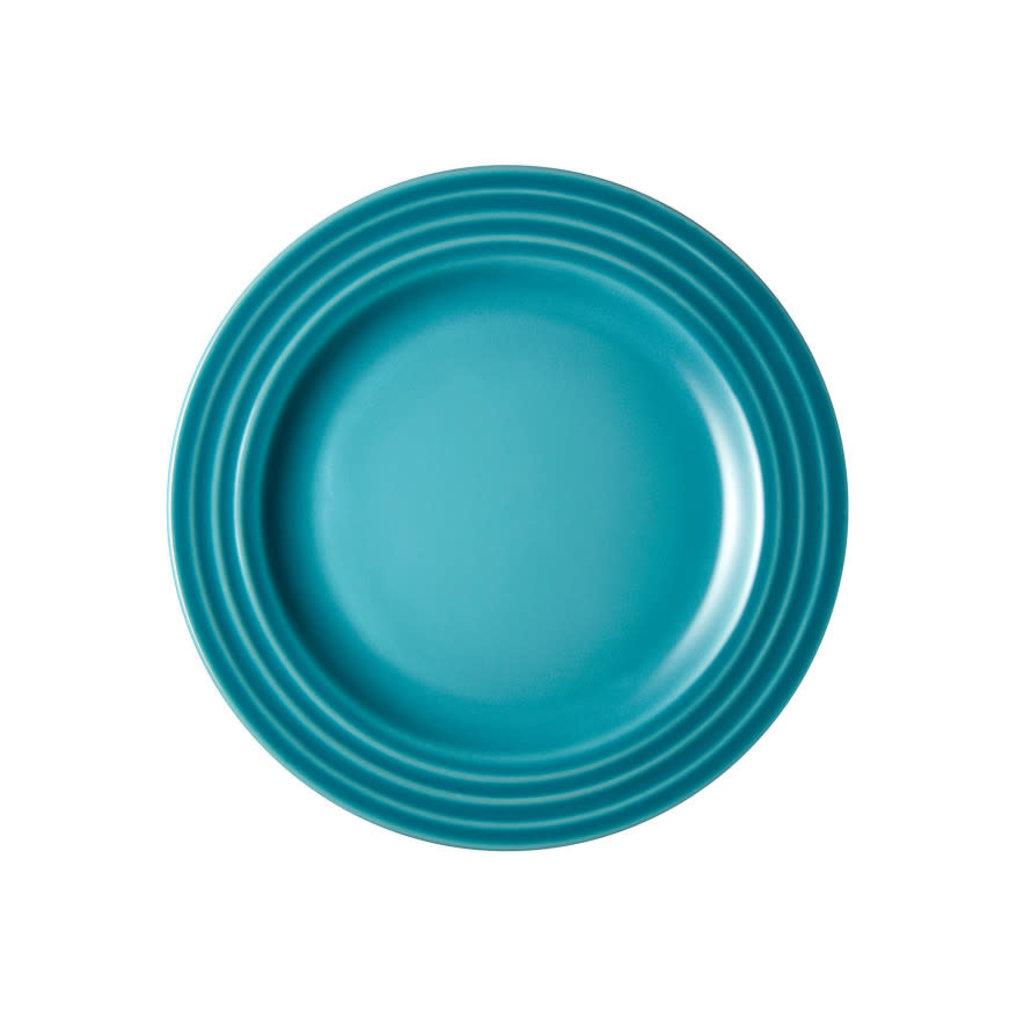 LE CREUSET Classic Set 4 Pc 17 Cm Appetizer Plates - Caribbean