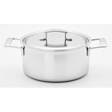 DEMEYERE Industry Casserole With Lid 2.3 Qt - 2.2 L