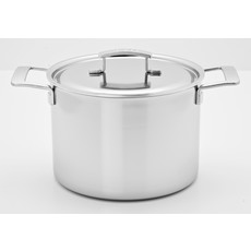 DEMEYERE Industry 7.6L Stock Pot With Lid