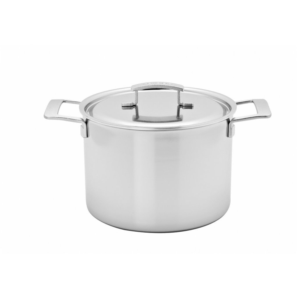 DEMEYERE Industry 11.4L Stock Pot With Lid