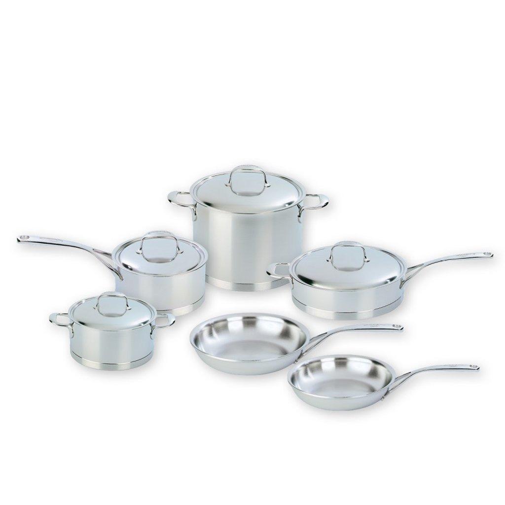 DEMEYERE Atlantis 10-Piece Cookware Set