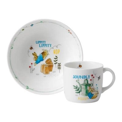 WEDGWOOD Peter Rabbit Boy's 2-Piece Set (Bowl & Mug)
