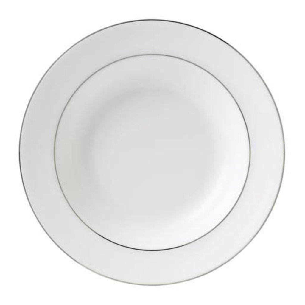 "WEDGWOOD Signet Platinum Rim Soup 8"""